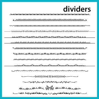 Skinny Borders & Dividers Set 2