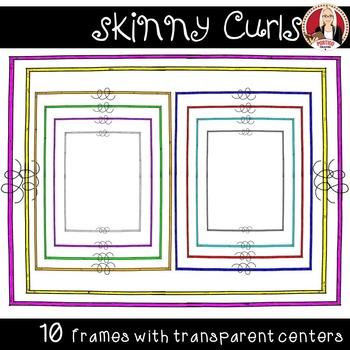 Skinny Curl Borders