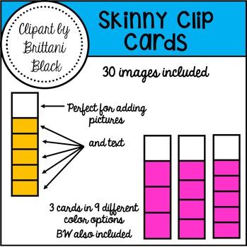 Skinny Clip Cards