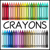 Skinny Crayons Clip Art (High Resolution)