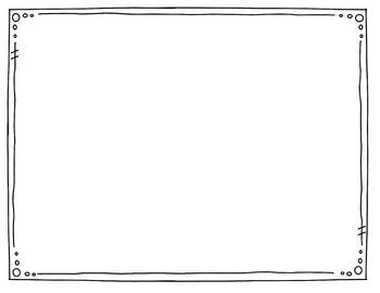 Skinny Doodles Borders