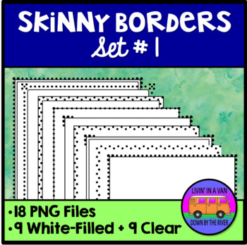 Skinny Borders - Set 1