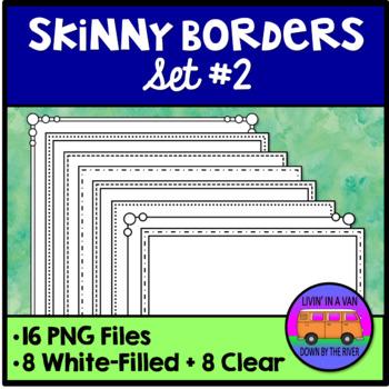 Skinny Borders - Set 2