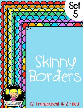 Skinny Frames {Set 5}