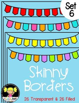 Skinny Frames {Set 6}