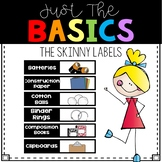 Skinny Supply Labels
