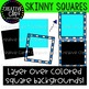 Skinny Square Frames {Creative Clips Clipart}