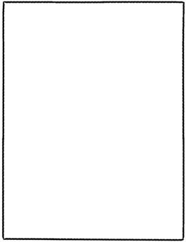 Skinny Worksheet Borders Clipart