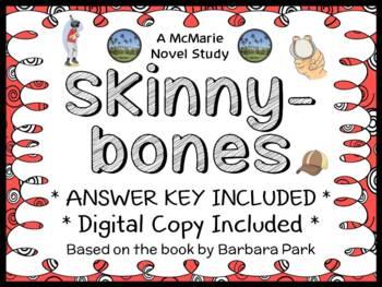Skinnybones (Barbara Park) Novel Study / Comprehension  (27 pages)
