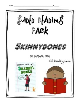 Skinnybones Guided Reading Activities