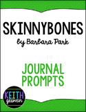 Skinnybones by Barbara Park: 12 Journal Prompts