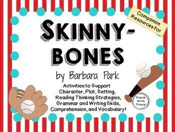 Skinnybones by Barbara Park:  A  Complete Novel Study!