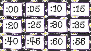 Skip Around the Clock with Daisies