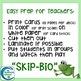 Organization of Life Skip-Bio Card Game