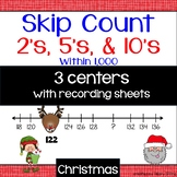 Skip Count 2's, 5's & 10's: Christmas Theme