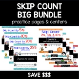 Skip Count BUNDLE! Ice Cream, Holidays and Seasons