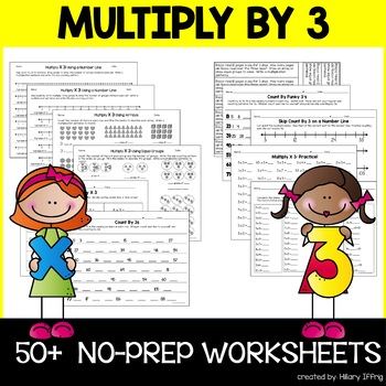 Multiply & Skip Count By 3