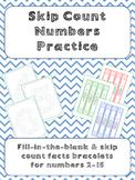 Skip Count Numbers Practice