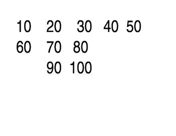 Skip Count Printable