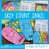 Skip Count Snail Mathtivity {Skip Counting for Multiplicat