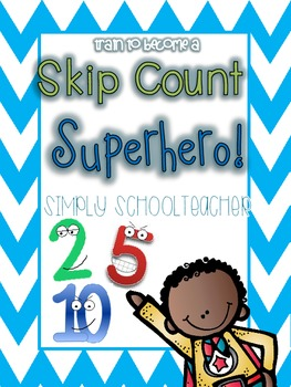Skip Count Superhero!