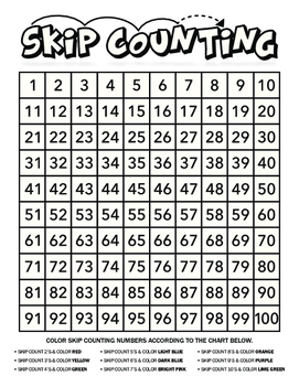 Skip Count and Color