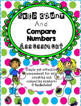 Skip Count and Compare Numbers Assessment