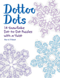 Skip Count by 1, 2, 3, 4, 5, 6, 7, 8, 10, Winter Snowflake Dot to Dot Bundle