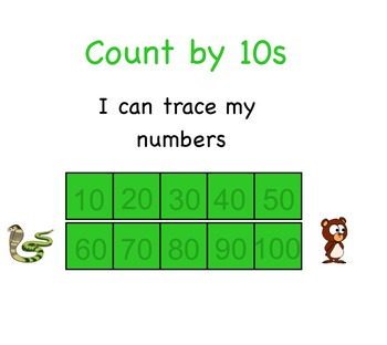 Skip Count by 10s