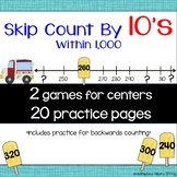 Skip Count by 10s Within 1,000