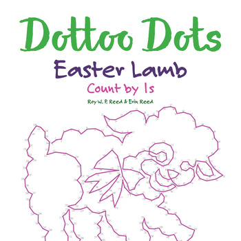 Skip Count by 1s, Dot to Dot Easter Lamb Math Activity
