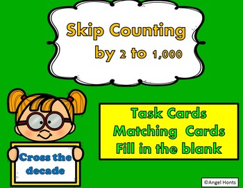 Skip Count by 2 to 1000 Cross the Decade
