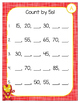 Skip Count by 2s 5s 10s 100s File Folder - Fill In and Match