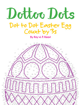 Skip Count by 3s, Dot to Dot Easter Egg Math Activity