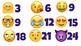 Skip Count by 3s Emojis!