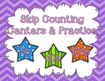 Skip Count by 5s 10s and 100s
