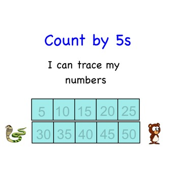 Skip Count by 5s