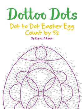 Skip Count by 5s, Dot to Dot Easter Egg Math Activity