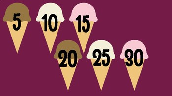 Skip Count by 5s Ice Cream!
