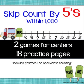 Skip Count by 5s within 1,000