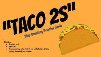 Skip Count by TACO 2s!