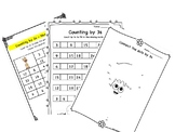 Skip Count in 3s, Table of 3, Learning Worksheet