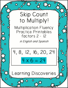 Skip Count to Multiply English and Spanish