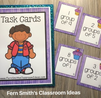 Skip Count on a Number Line Task Cards