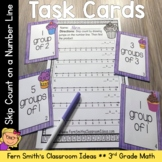 Skip Count on a Number Line Task Cards