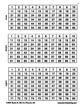 Skip-Count to 10 or 12 - Multiplication Intro