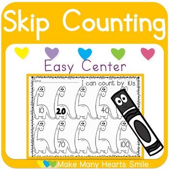 Skip Counting: Dinosaurs