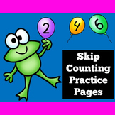 Skip Counting by 2, 5 and 10 Worksheets