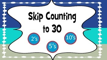 Skip Counting FREE