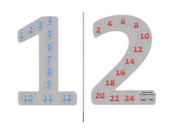 Skip Counting 1s & 2s.